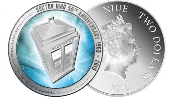 New Zealand Doctor Who coin