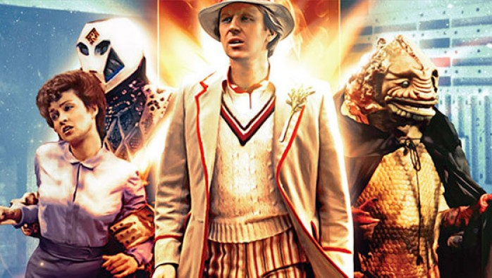Doctor Who: The Visitation DVD cover
