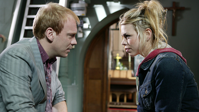Pete and Rose Tyler from Doctor Who: Father's Day