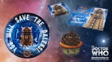 Some of the party-ware from Lakeland's Doctor Who range