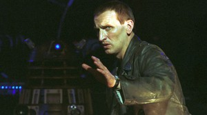 Christopher Eccleston as the Doctor in Doctor Who: The Parting of the Ways