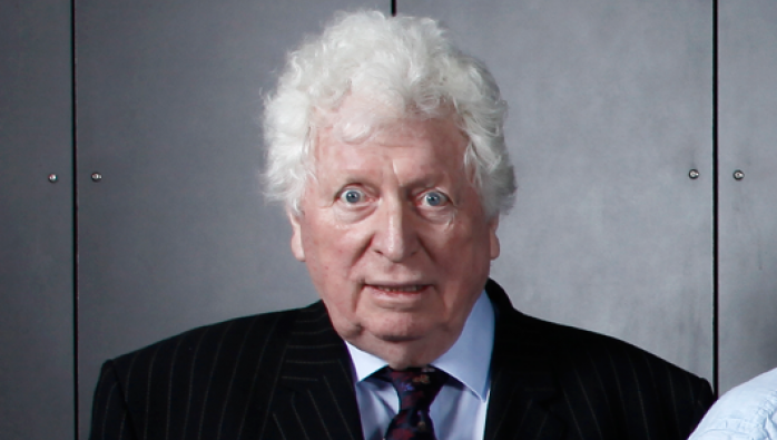 Tom Baker at the Doctor Who Celebration