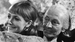 Vicki (Maureen O'Brien) and First Doctor (William Hartnell) in Doctor Who