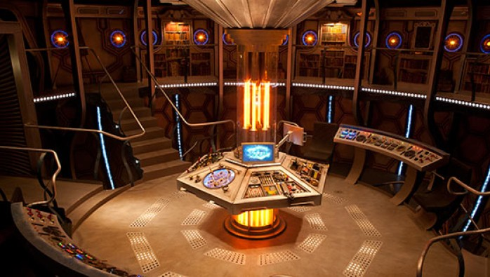 The TARDIS Console Room From Doctor Who