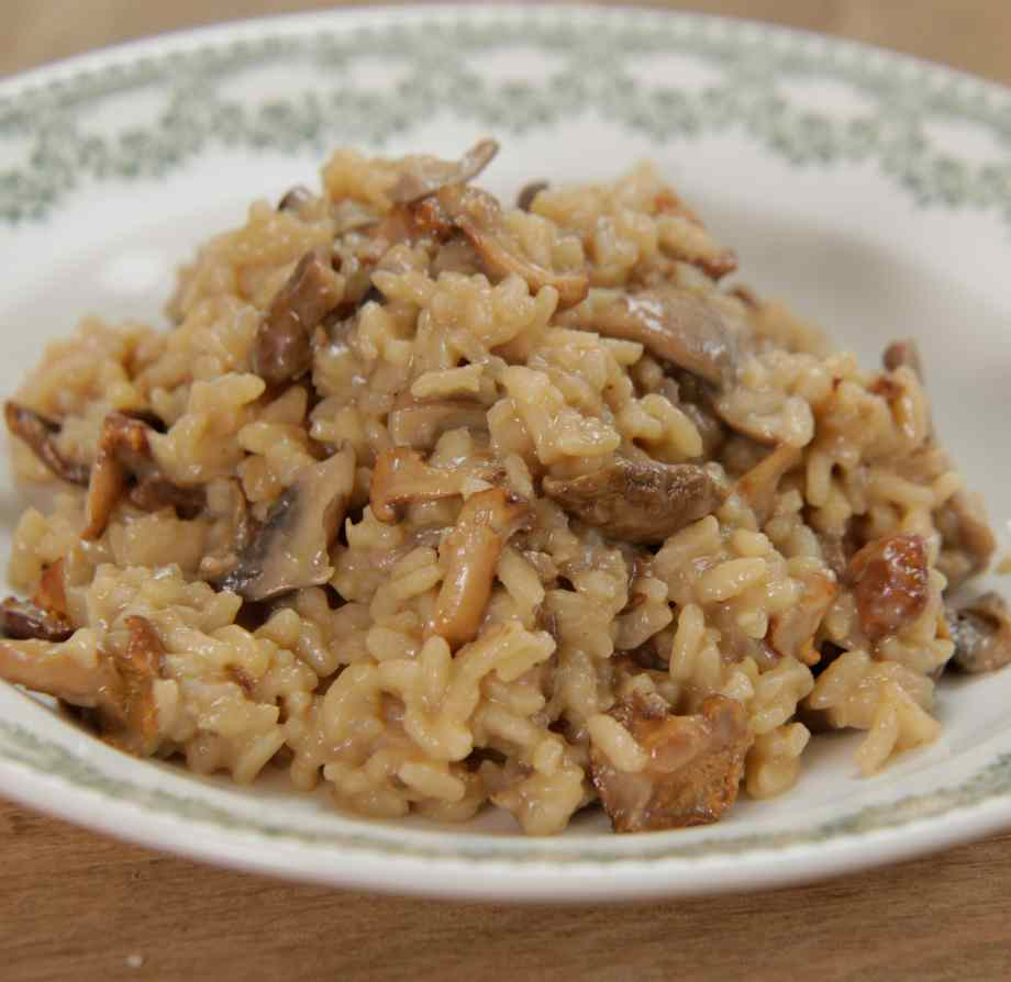 Mushroom Risotto Michela S Classic Italian Bbc Lifestyle Recipes Bbc Studios Nordic