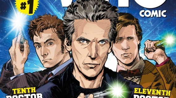 Titan launches Doctor Who comic in UK
