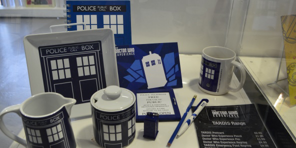 Doctor Who Experience Shop TARDIS range