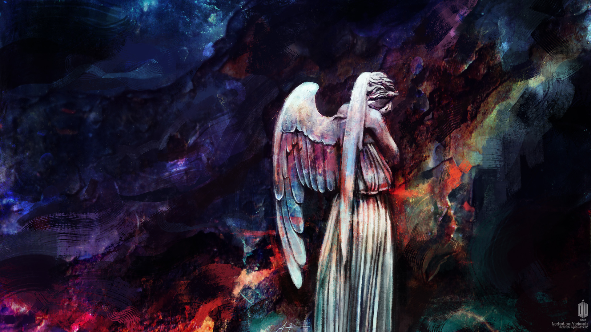don t blink weeping angels wallpaper articles doctor who