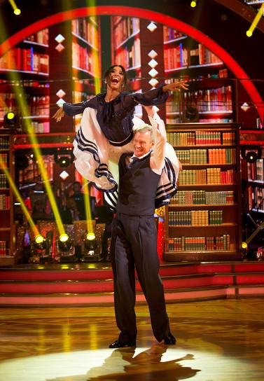 Jeremy Vine and Karen Clifton take it nice and smooth.