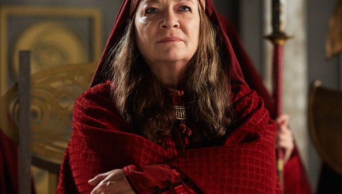 Ohila, played by Clare Higgins