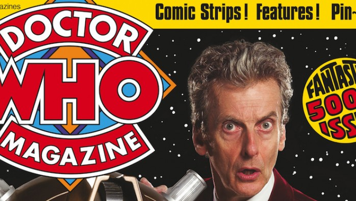 Doctor Who Magazine 500 foil