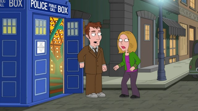 Tenth Doctor in Family Guy