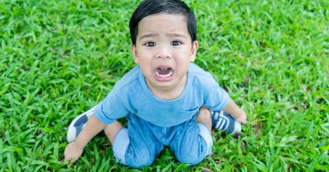 Why do toddlers have tantrums?