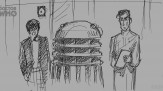 The Power of the Daleks sketch drawings