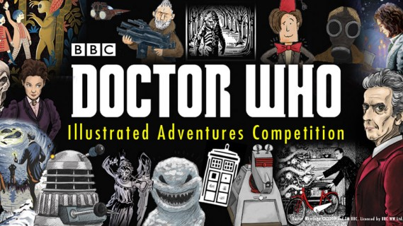 Have YOUR Doctor Who artwork published in an official book!