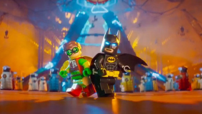 Daleks in the LEGO Batman Movie