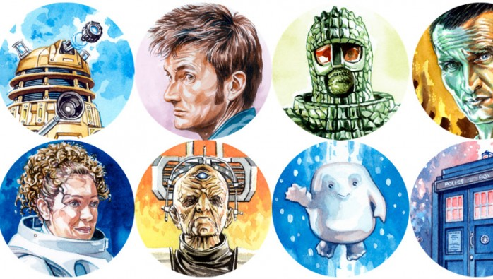Doctor Who Sticker Pack 2