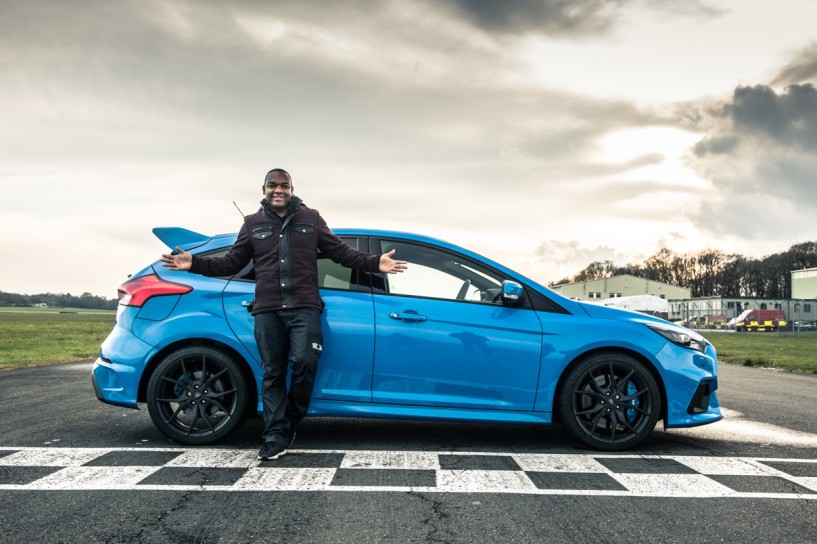 Rory Reid vs Ford Focus RS