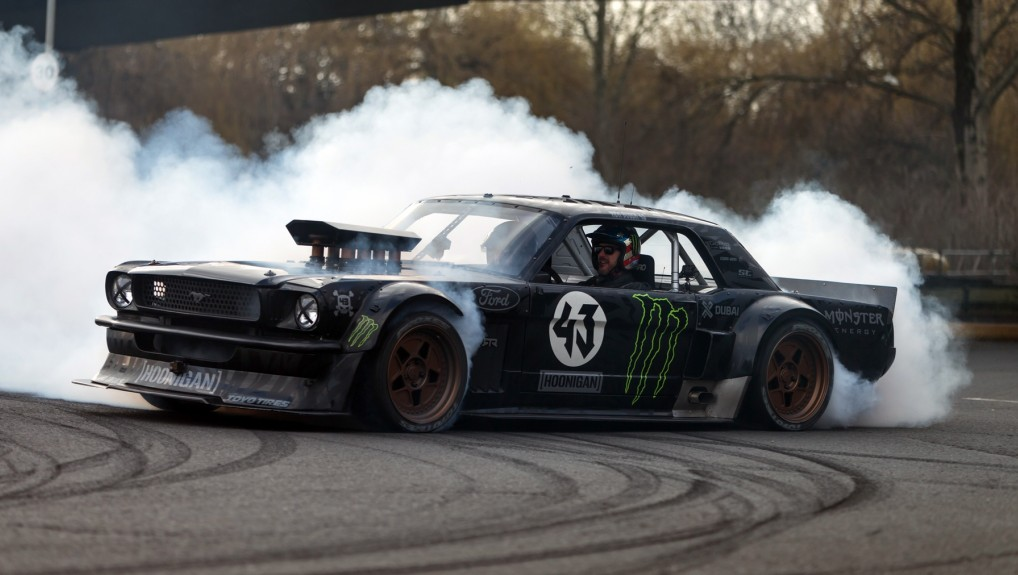 Matt LeBlanc, Ken Block & the Hoonicorn