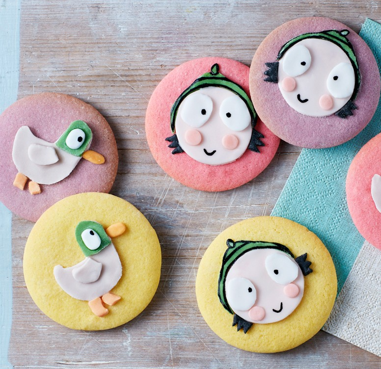 Sarah and Duck Cookies