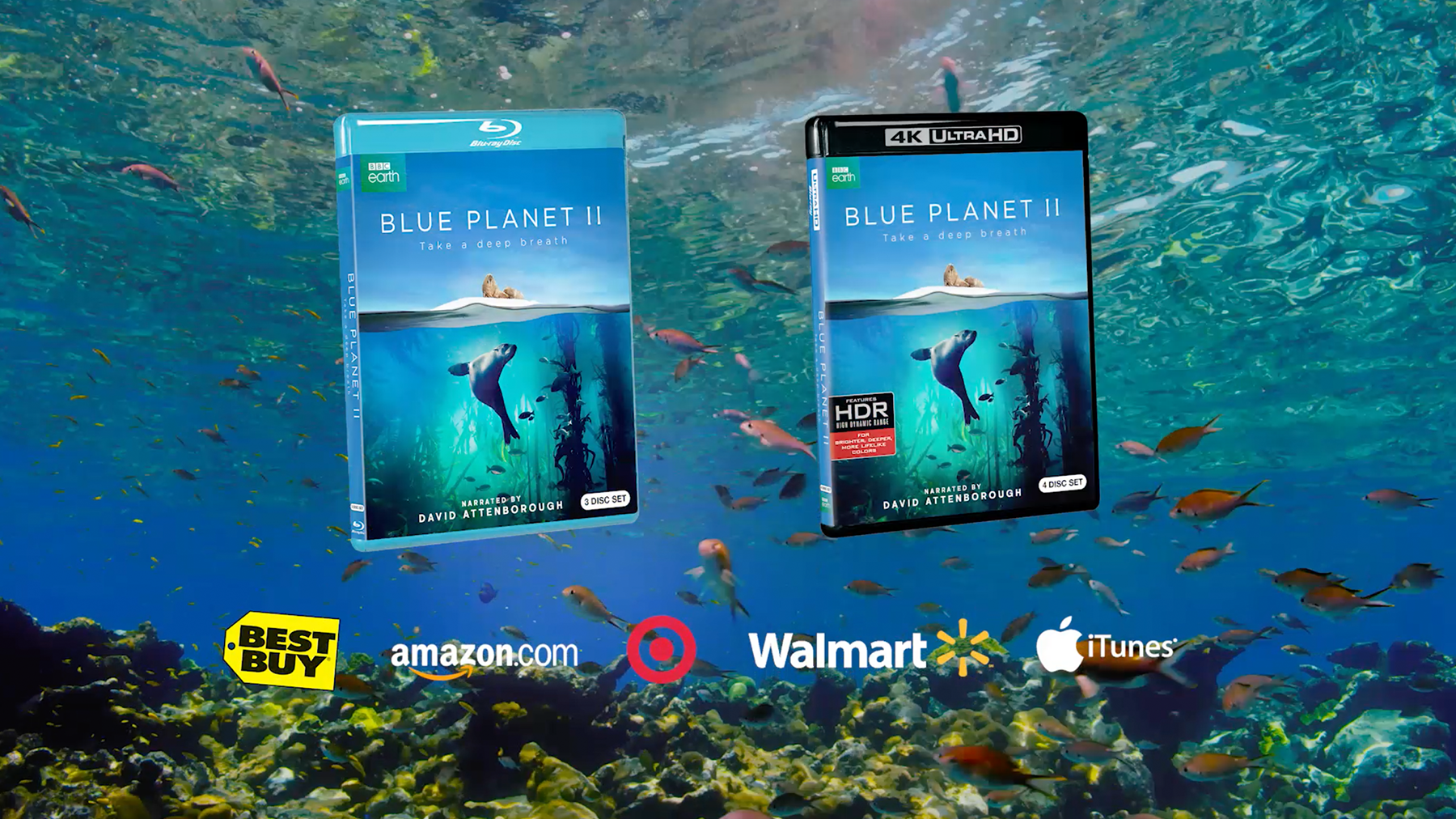 Blue Planet II Available on DVD