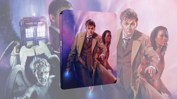 Doctor Who Series 3 coming to Blu-ray steelbook in May