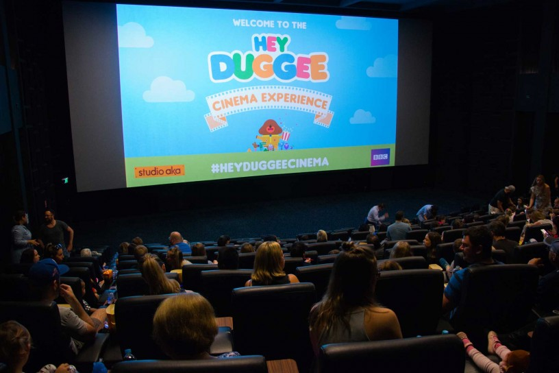 Hey Duggee cinema experience gallery