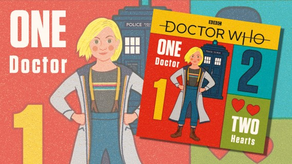 OUT NOW! One Doctor Two Hearts: A Doctor Who counting book with a timey-wimey twist on every page!