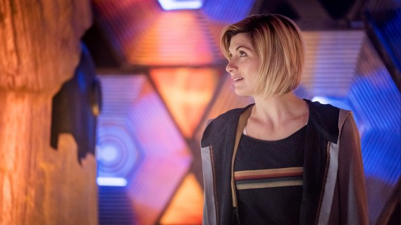 Doctor Who fans react to the new TARDIS, revamped title sequence and more!