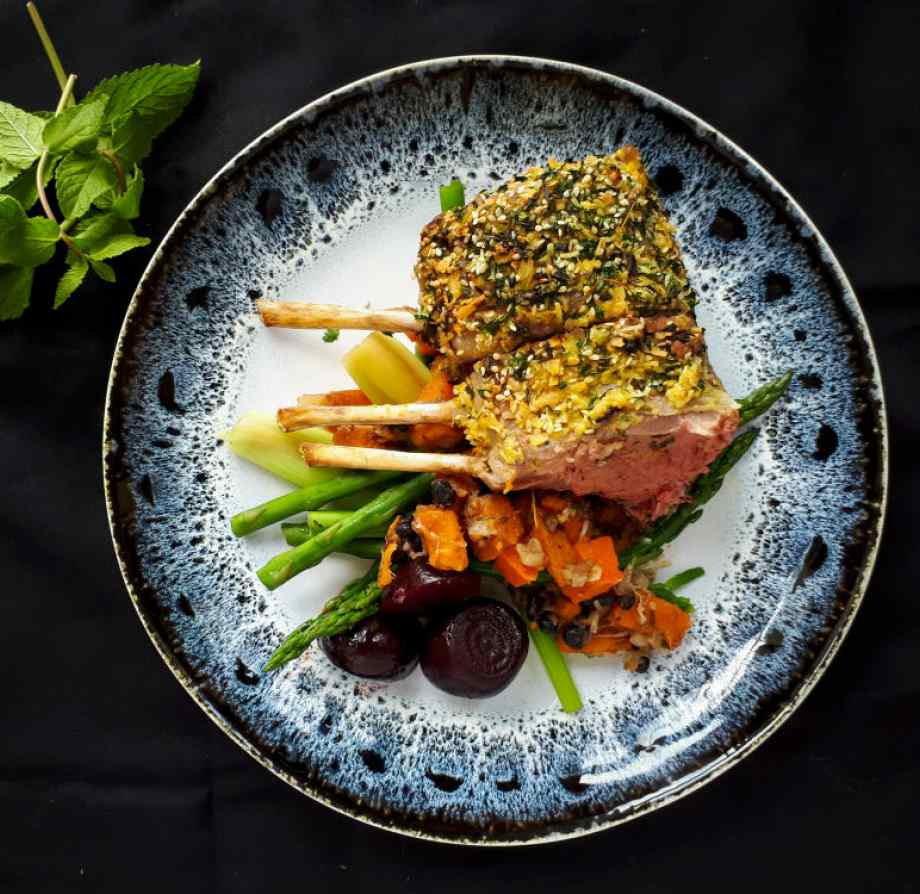 Celebrity influencer Khanya's Rack of Lamb Main