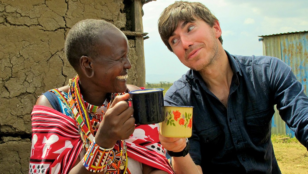 Simon Reeve Poster Image