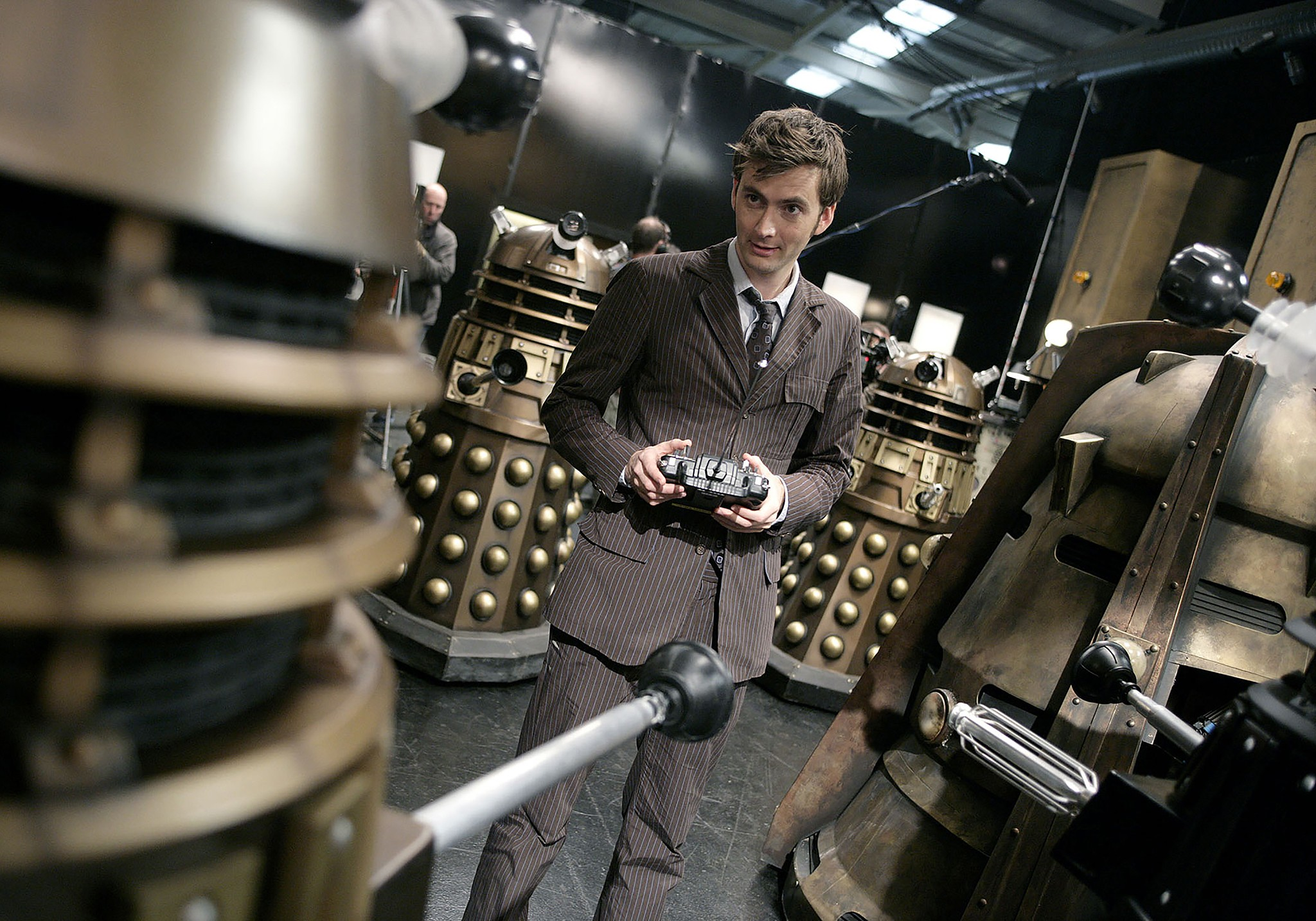 The Tenth Doctor vs the Daleks