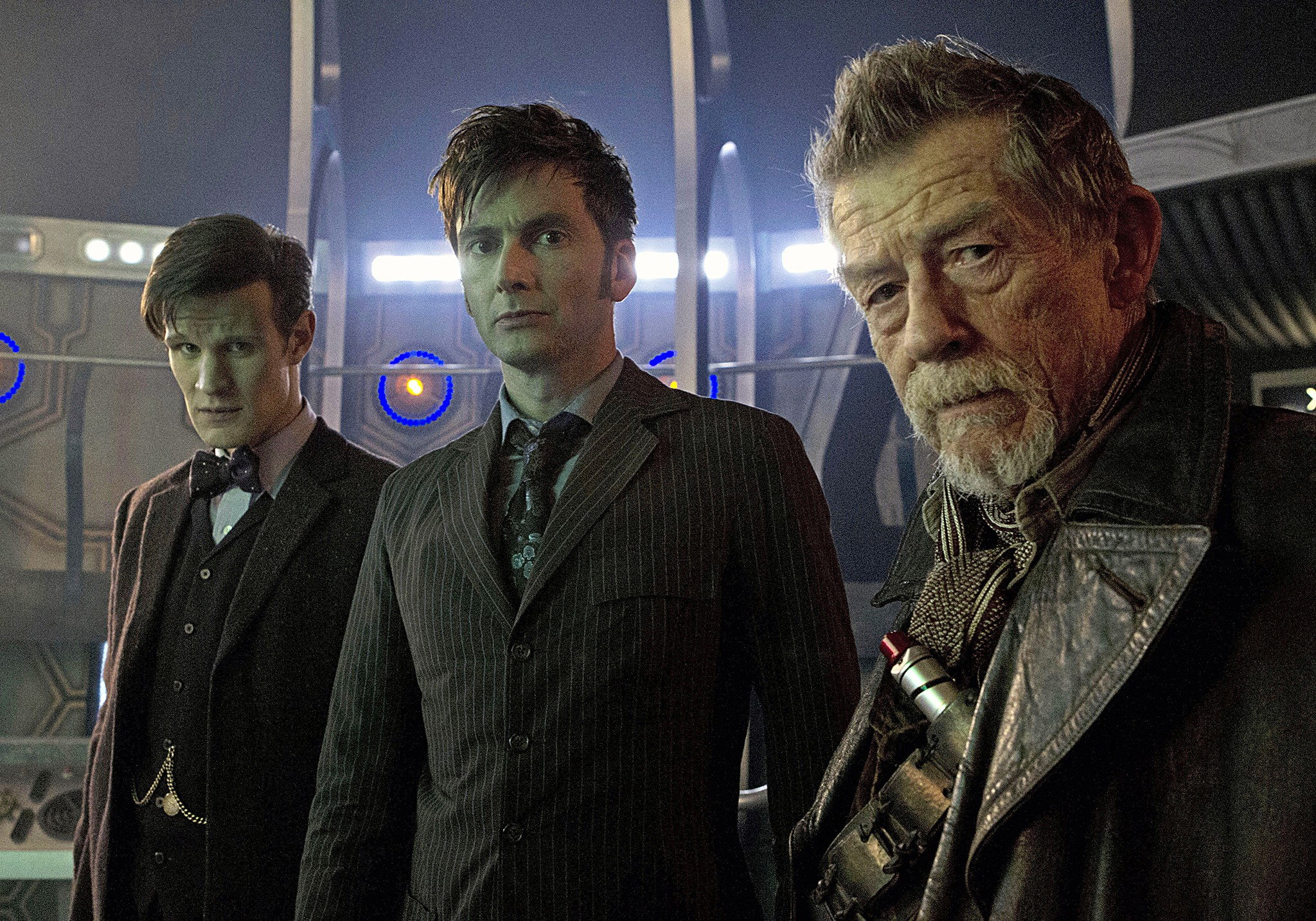 The Eleventh, Tenth and War Doctors