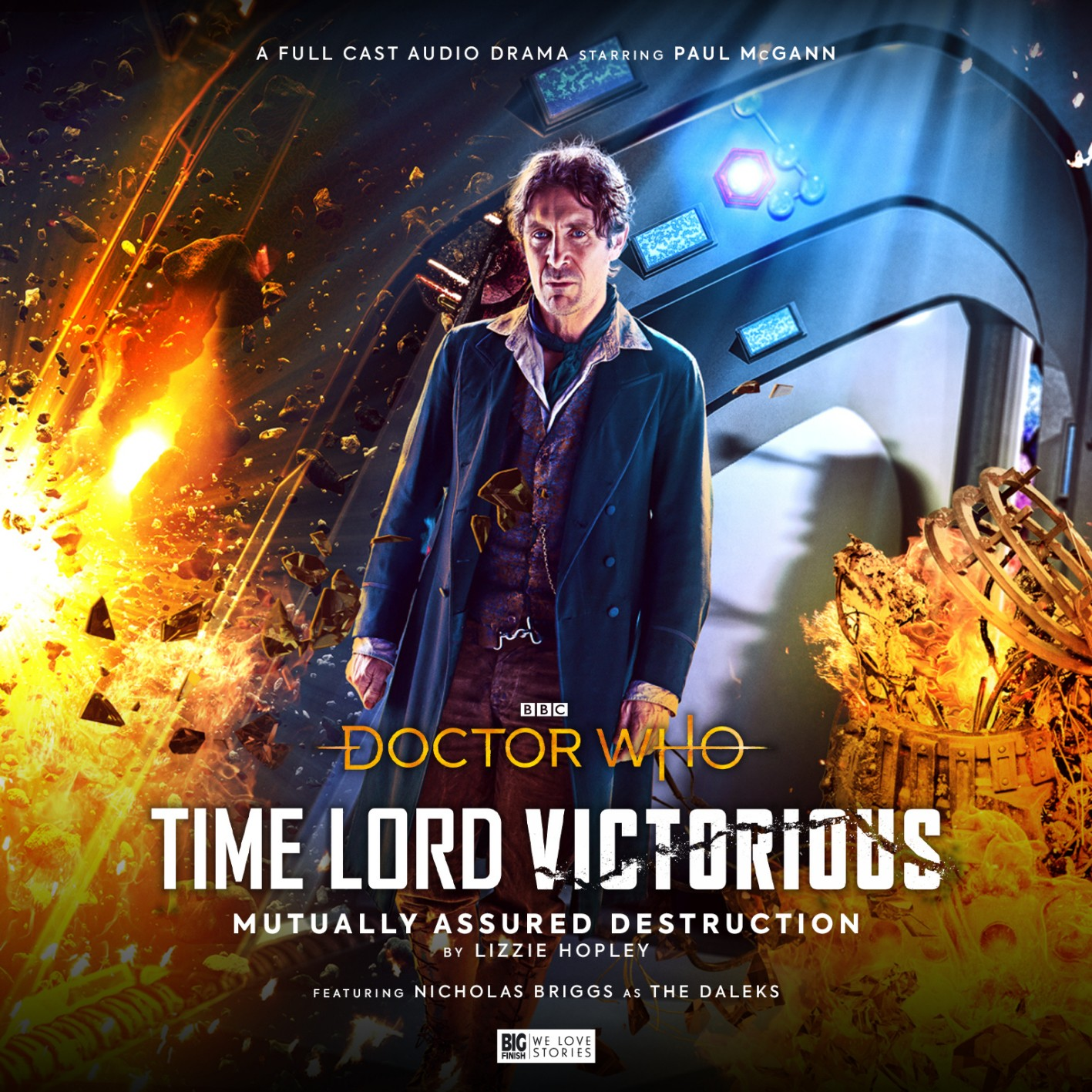 Doctor Who Time Lord Victorious audio dramas