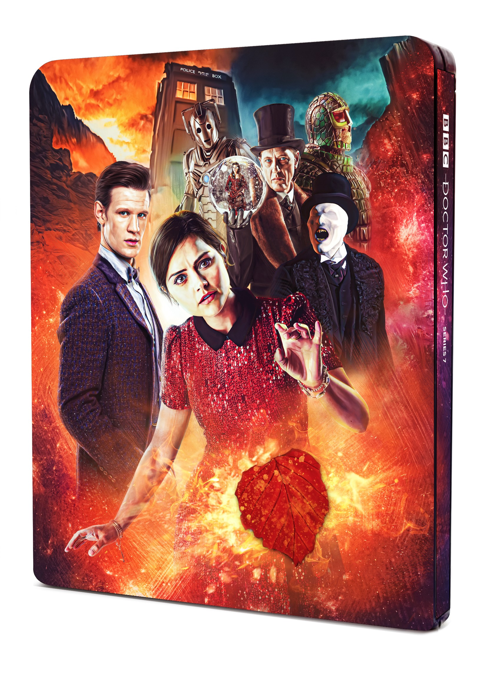 Doctor Who The Steelbook Seventh Series