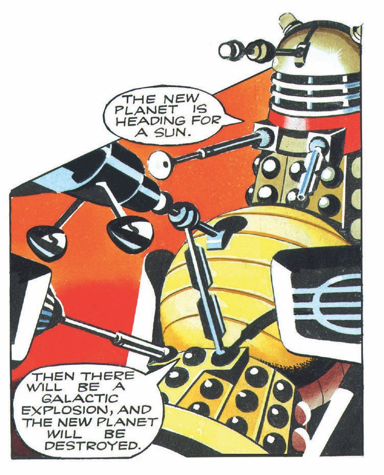 Daleks the comic collection