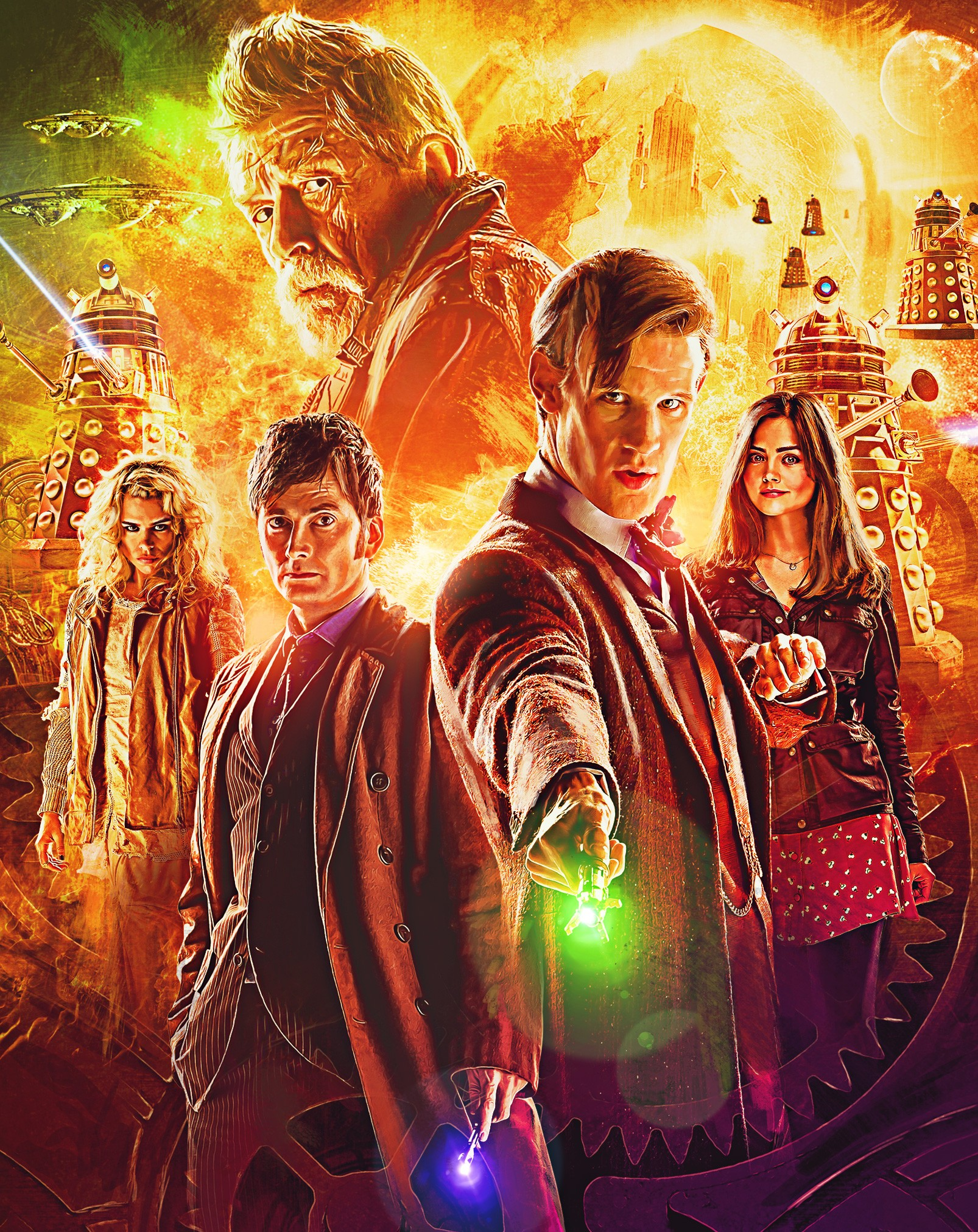 Doctor Who - 50th anniversary steelbook