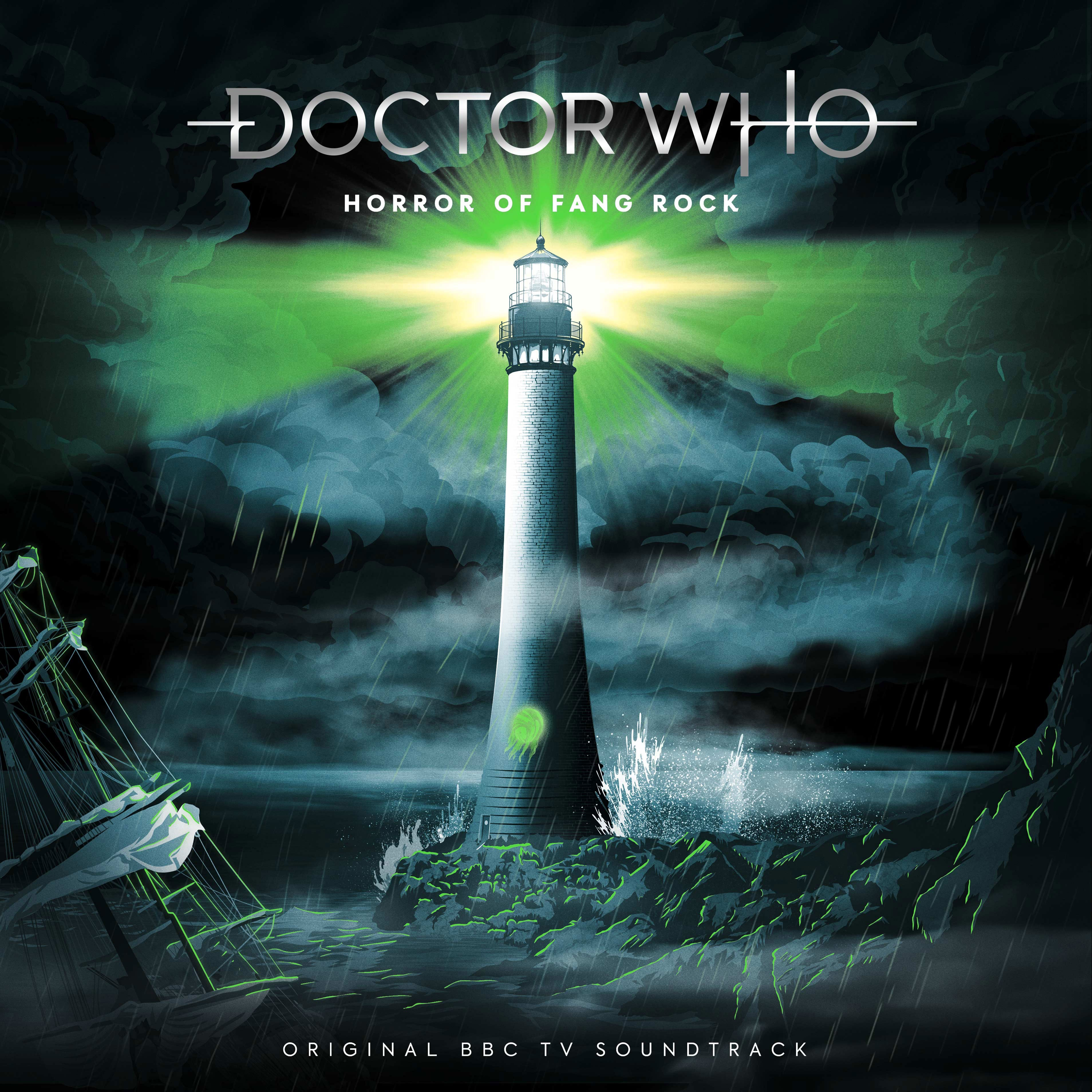 Doctor Who Horror of Fang Rock vinyl version