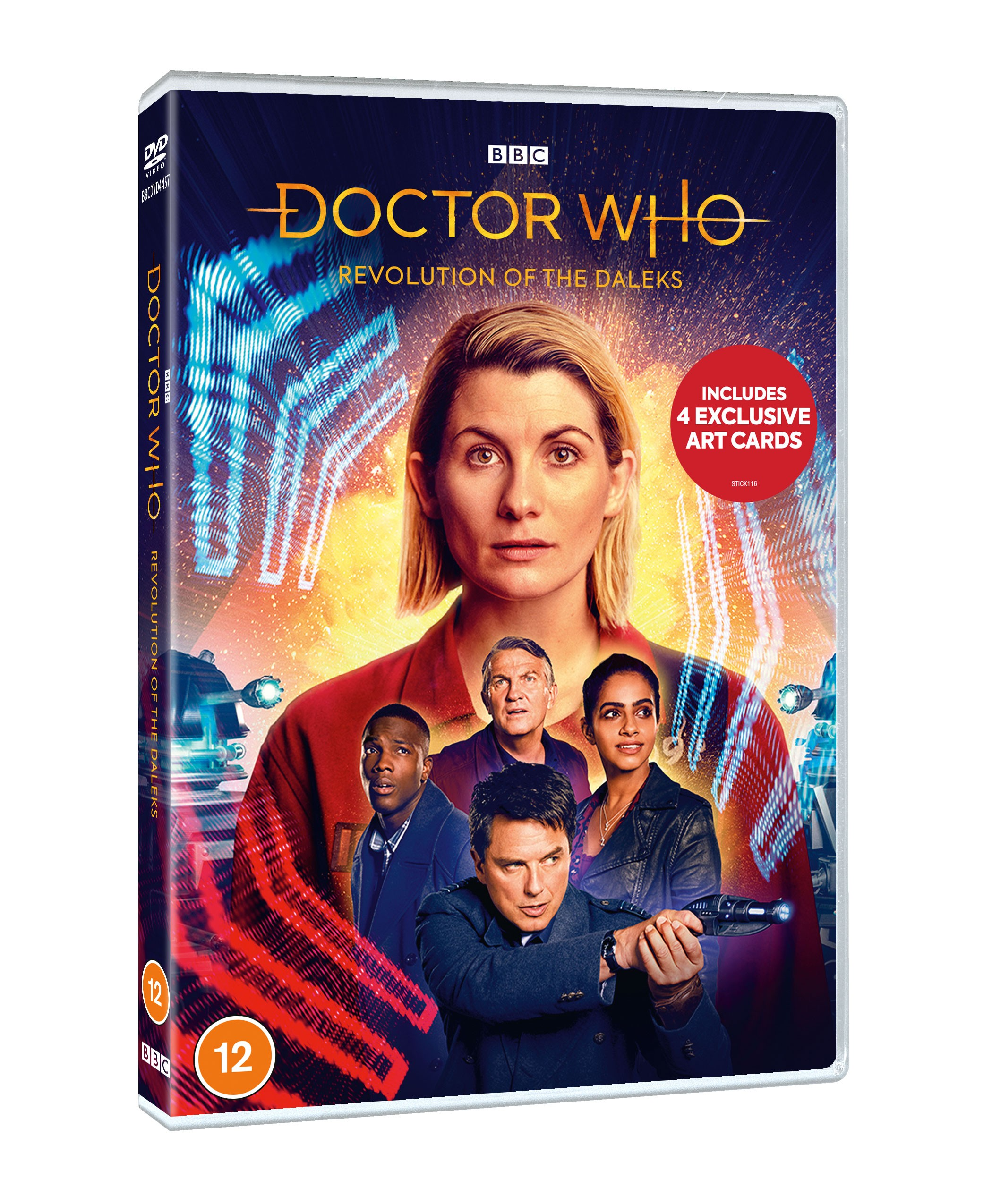 Doctor Who Revolution of the Daleks DVD and Blu-ray