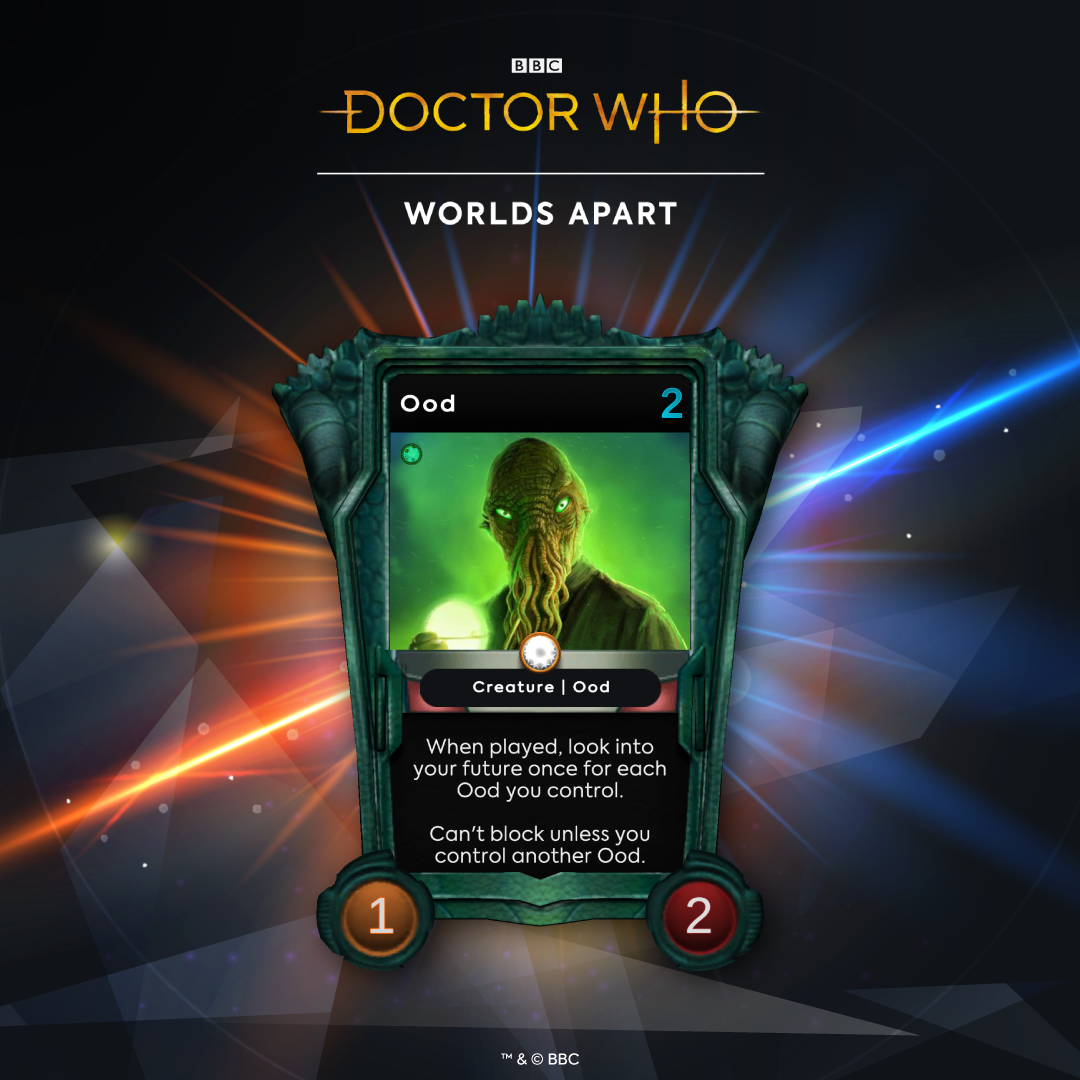 Doctor Who - Worlds Apart digital trading card game