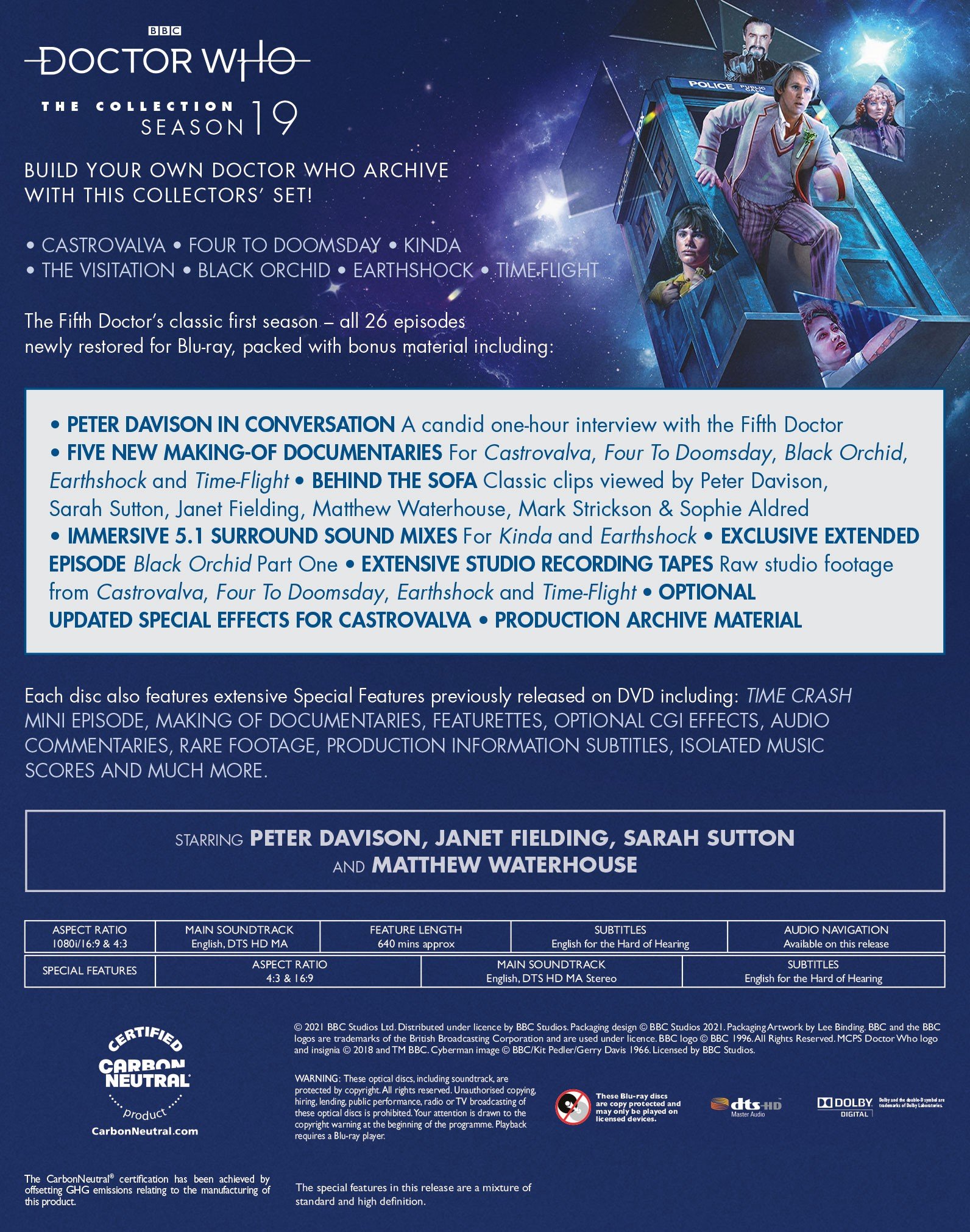 Doctor Who - The Collection in standard packaging