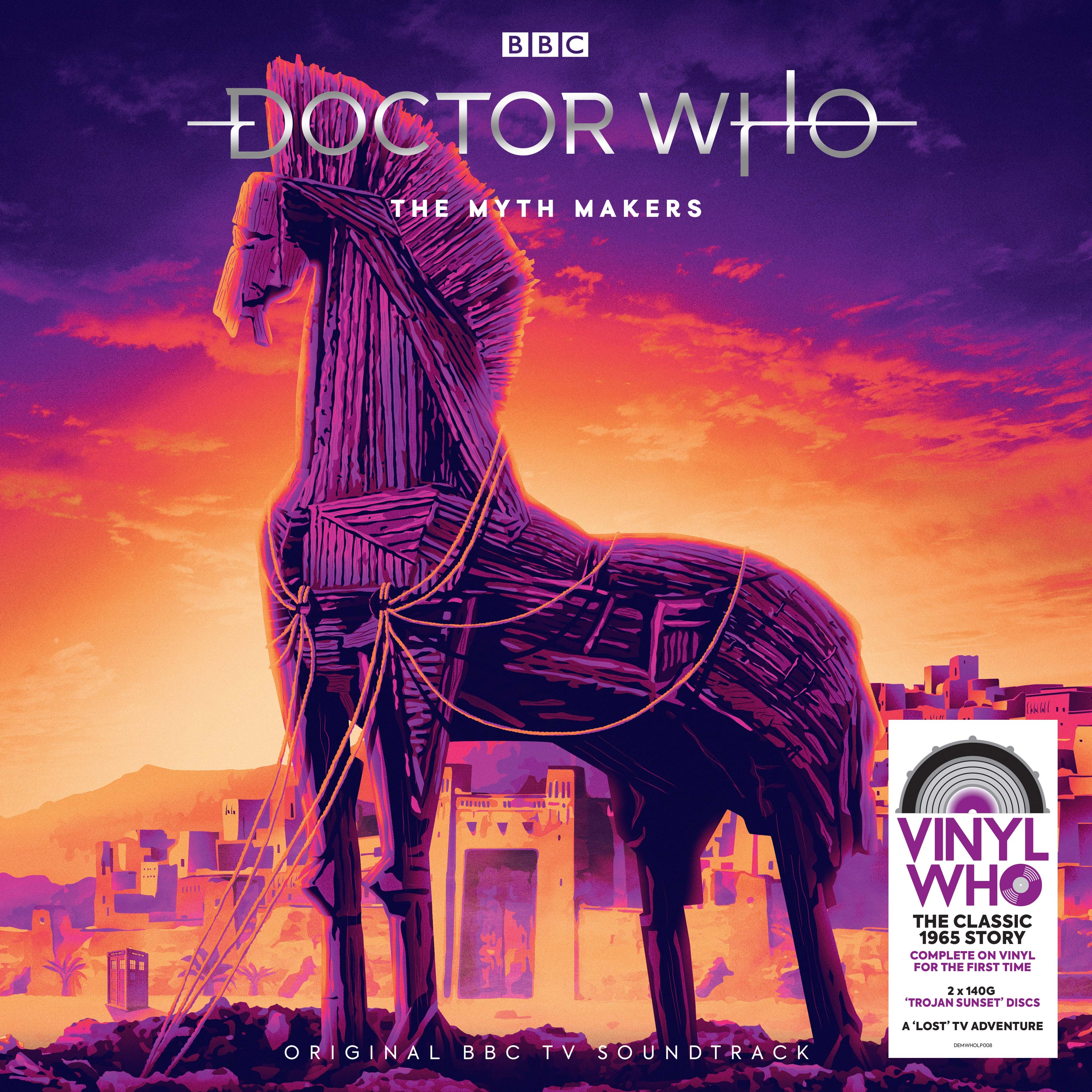Doctor Who - The Myth Makers on vinyl