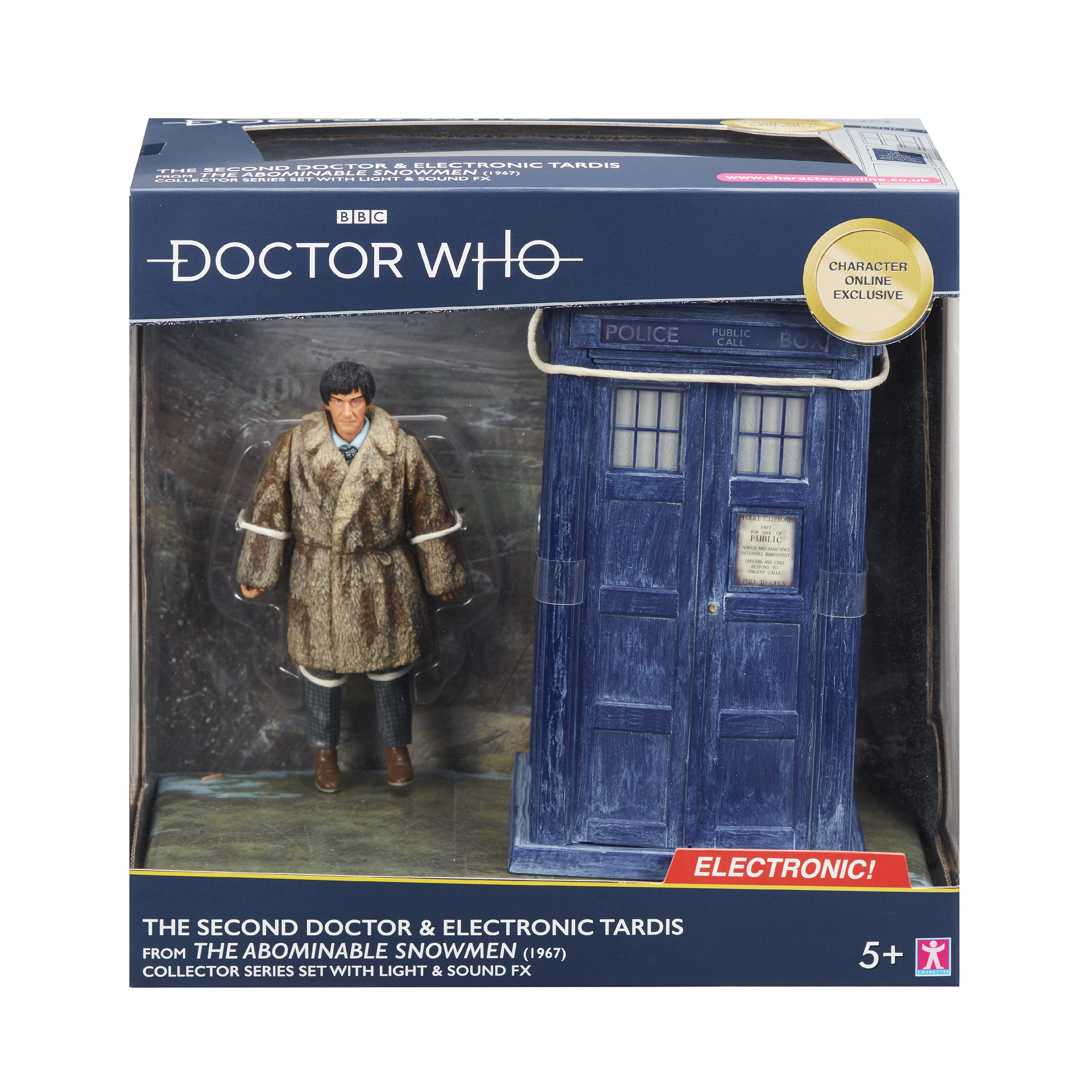 Doctor Who - the second doctor Character Otpions