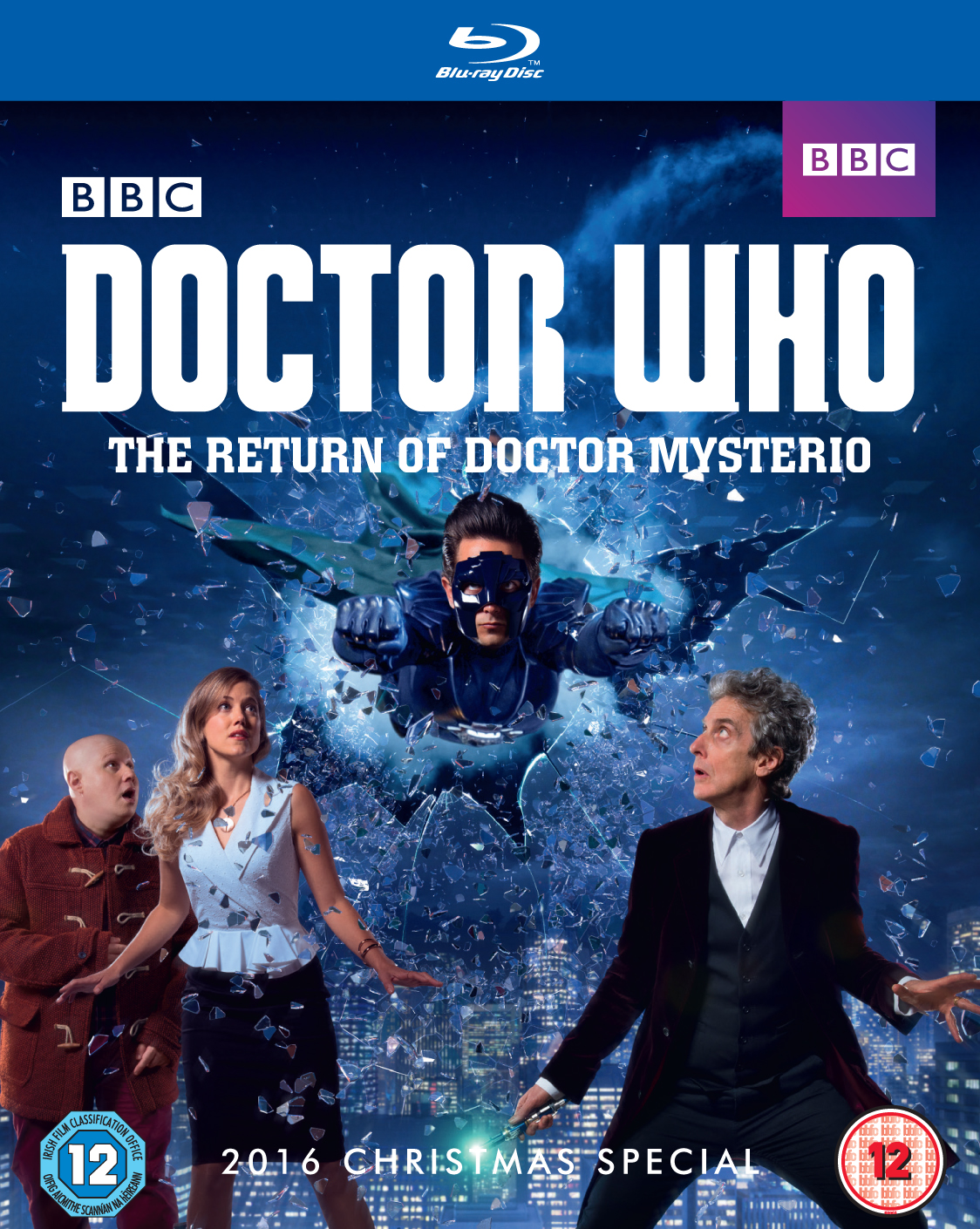 The Return of Doctor Mysterio Blu-ray