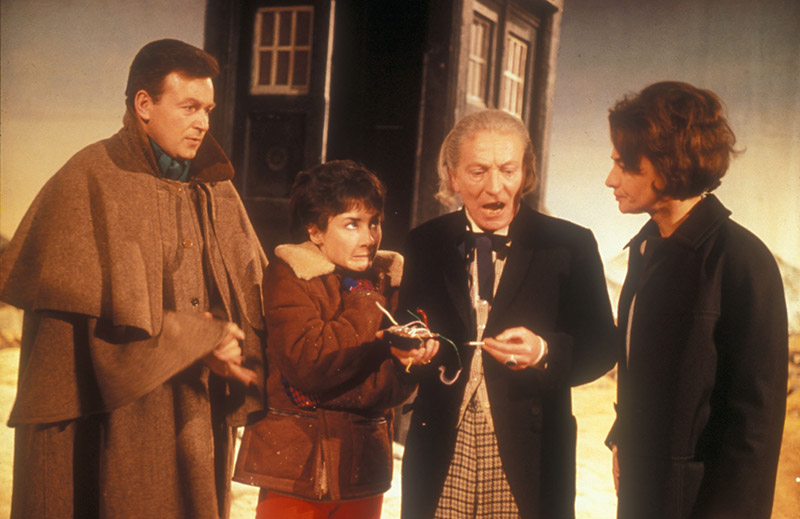 The First Doctor with Susan, Barbara and Ian